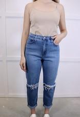 HUSH Distressed boyfriend jeans