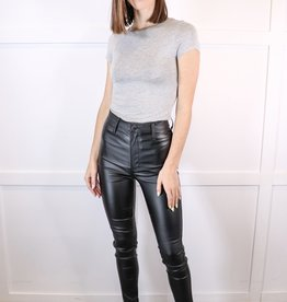 HUSH High waisted pleather pant