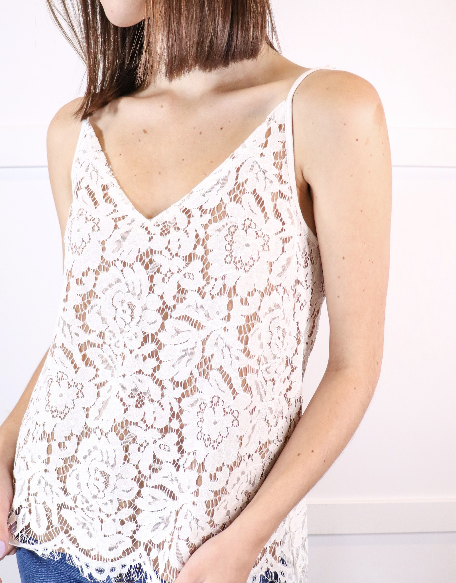 HUSH Lace cami top