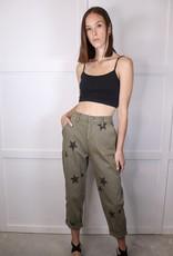 HUSH Star Printed Pants