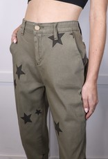 HUSH Star Printed Pants