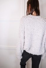 HUSH Fluffy popcorn texture sweater