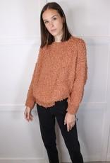 HUSH Fluffy popcorn texture sweater
