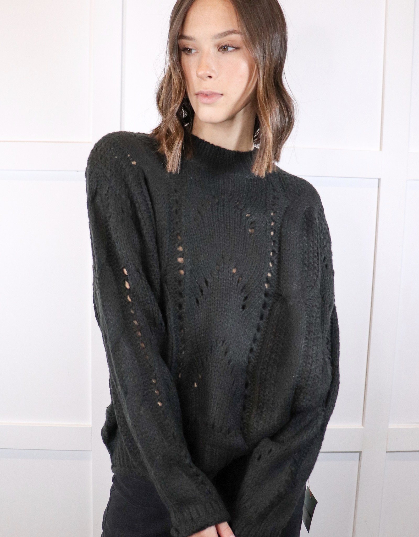 HUSH Cable knit oversized sweater