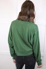 HUSH Soft long sleeve cropped sweater