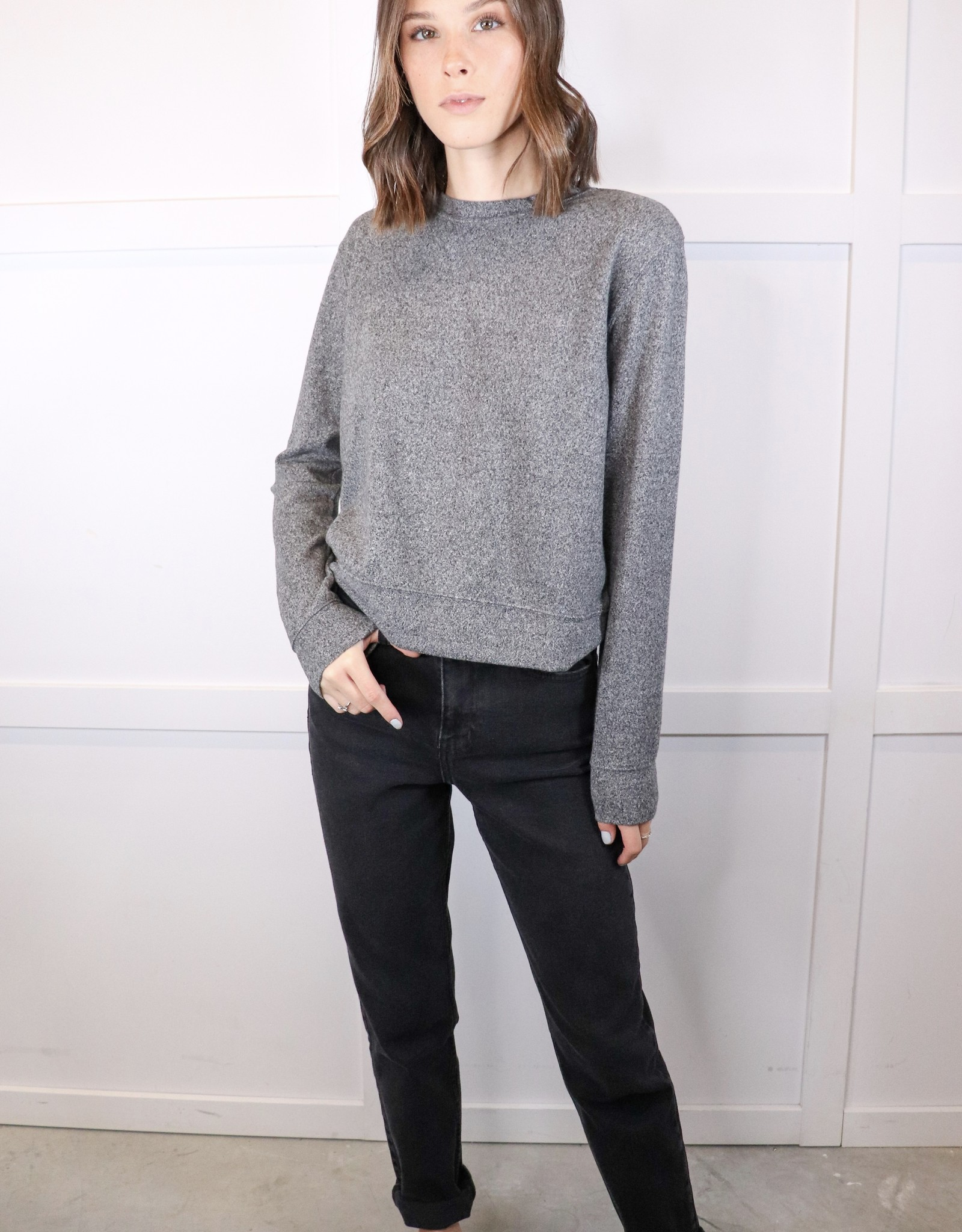 HUSH Soft crew neck long sleeve