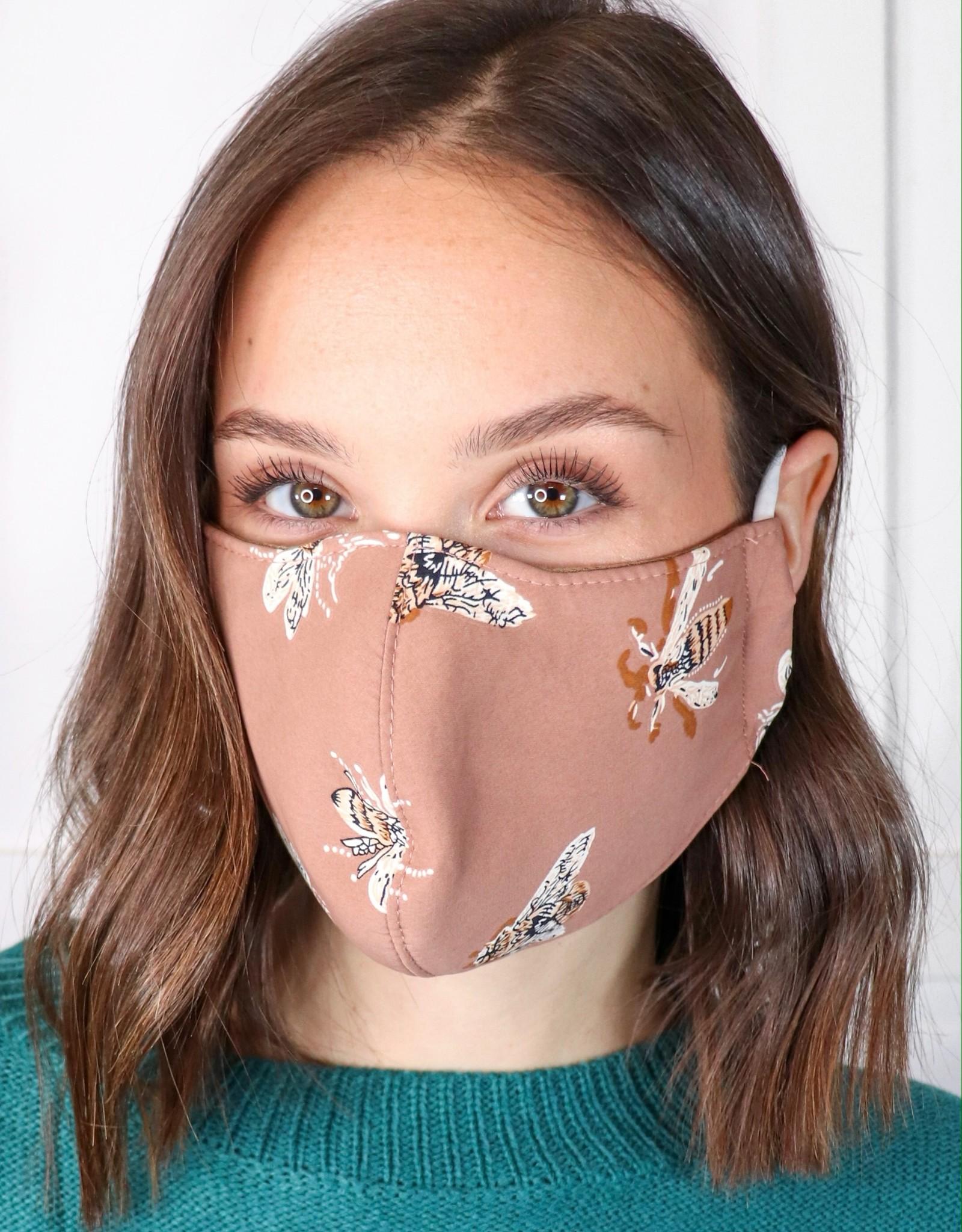 HUSH 3 Layer reusable mask