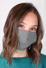 HUSH Pleated cotton reusable face mask