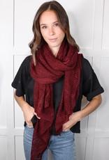HUSH Lightweight net wrap scarf