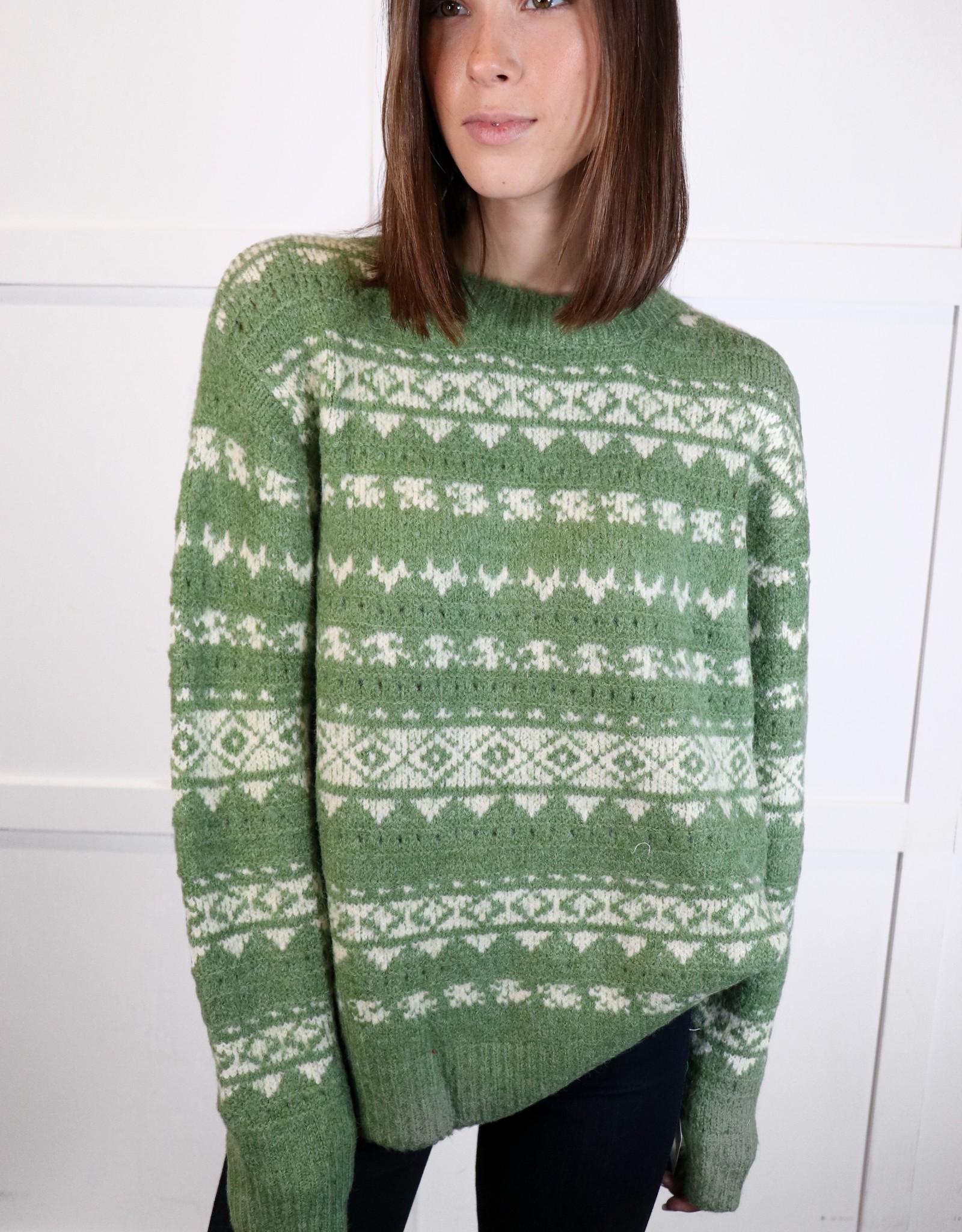 HUSH Crewneck nordic sweater