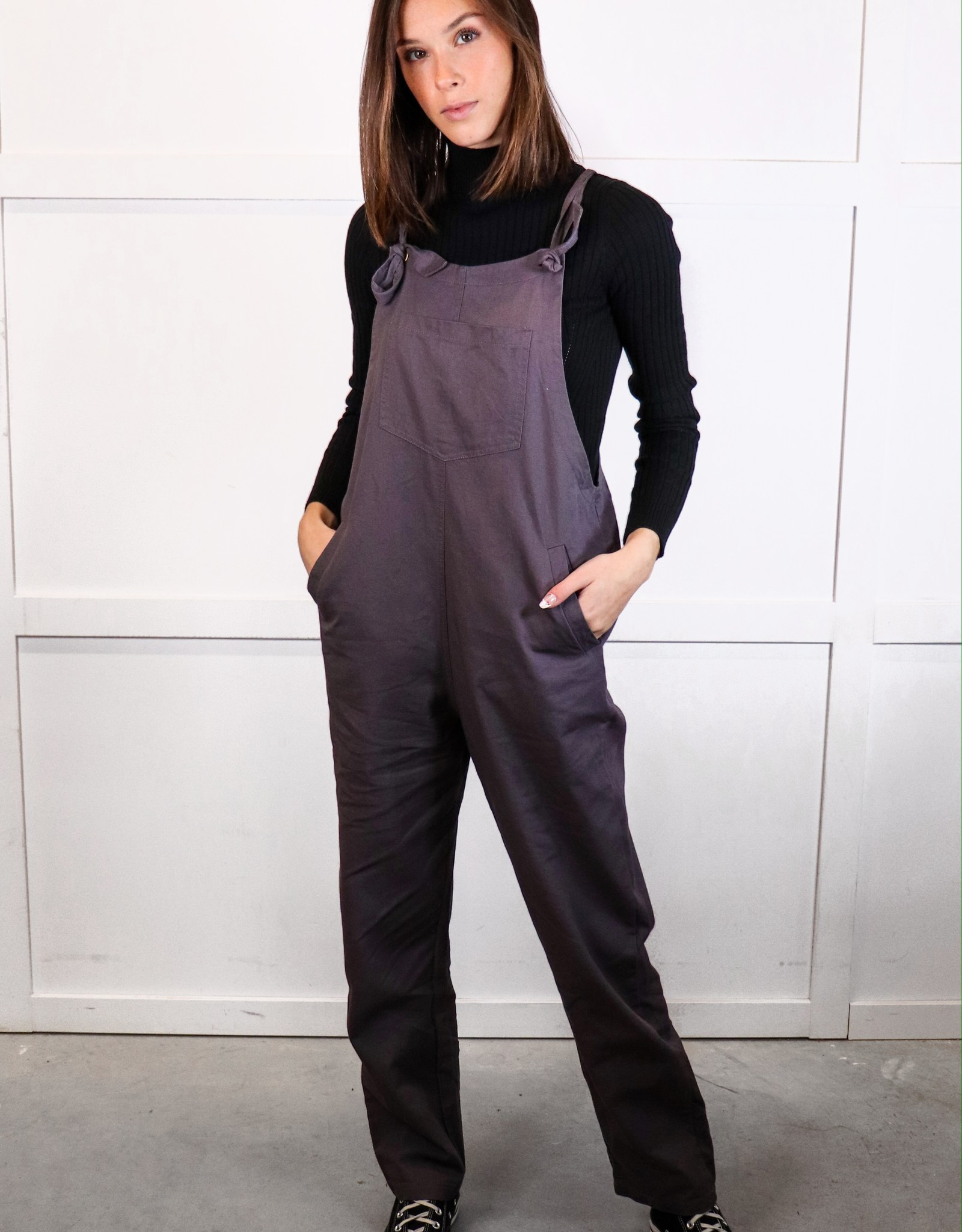 HUSH Tied relaxed jumpsuit