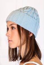 HUSH Thick braid knit beanie