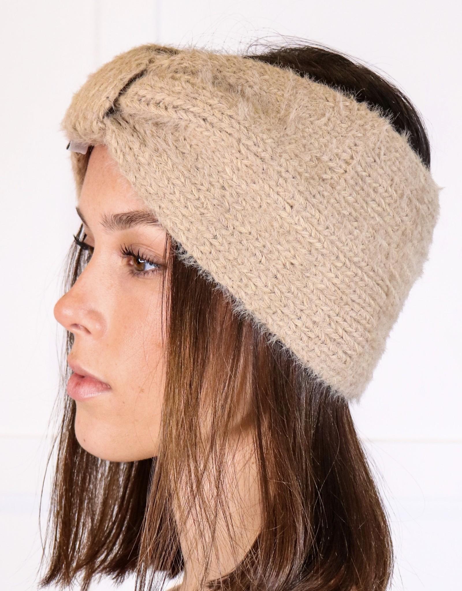 HUSH Soft mohair bow headband