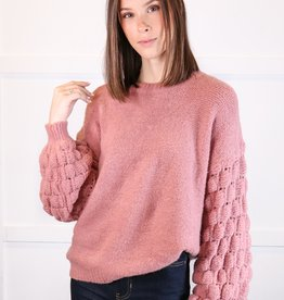 HUSH Sleeve detail sweater