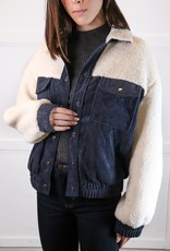 HUSH Sherpa panel jacket