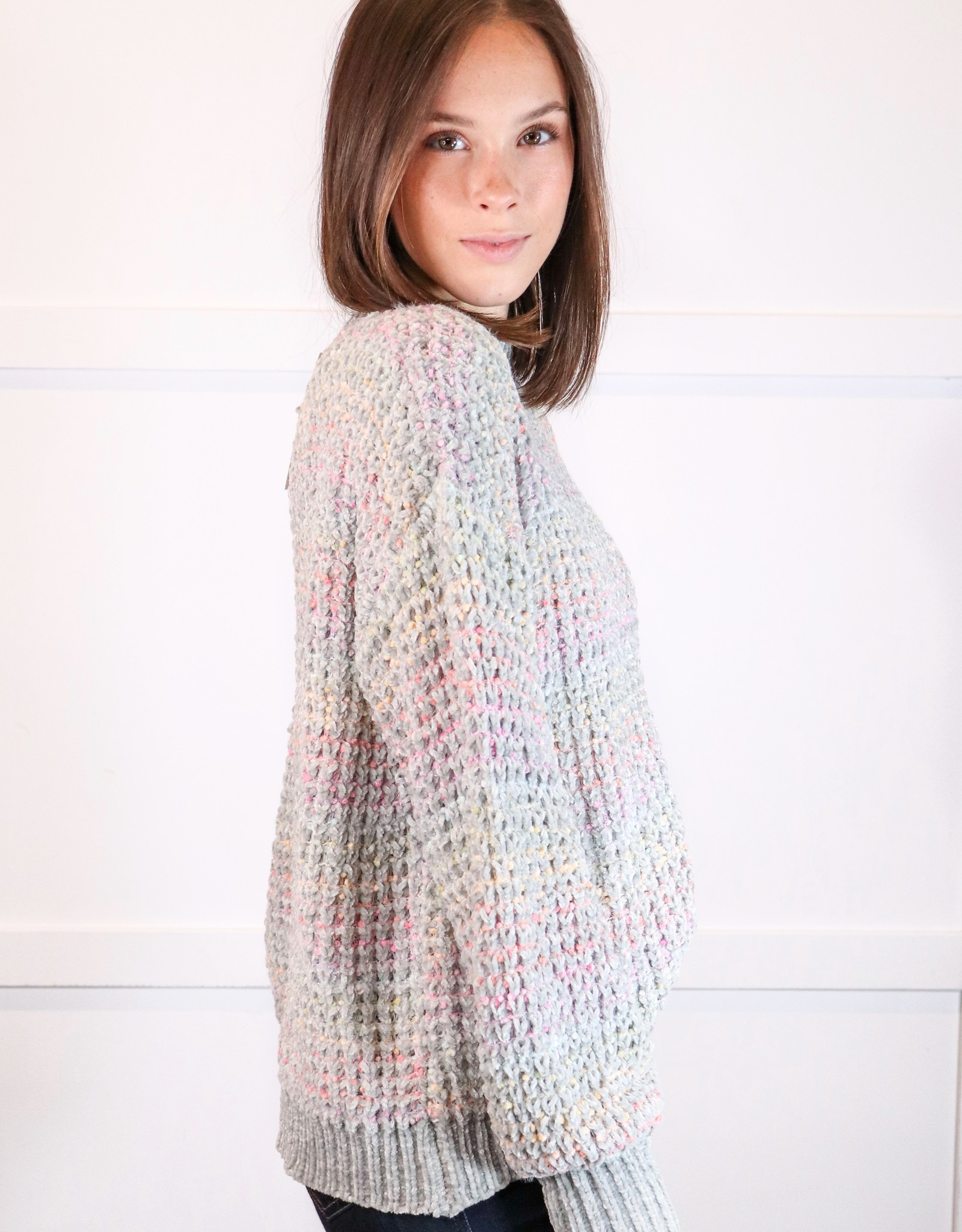 HUSH Rainbow colour sweater