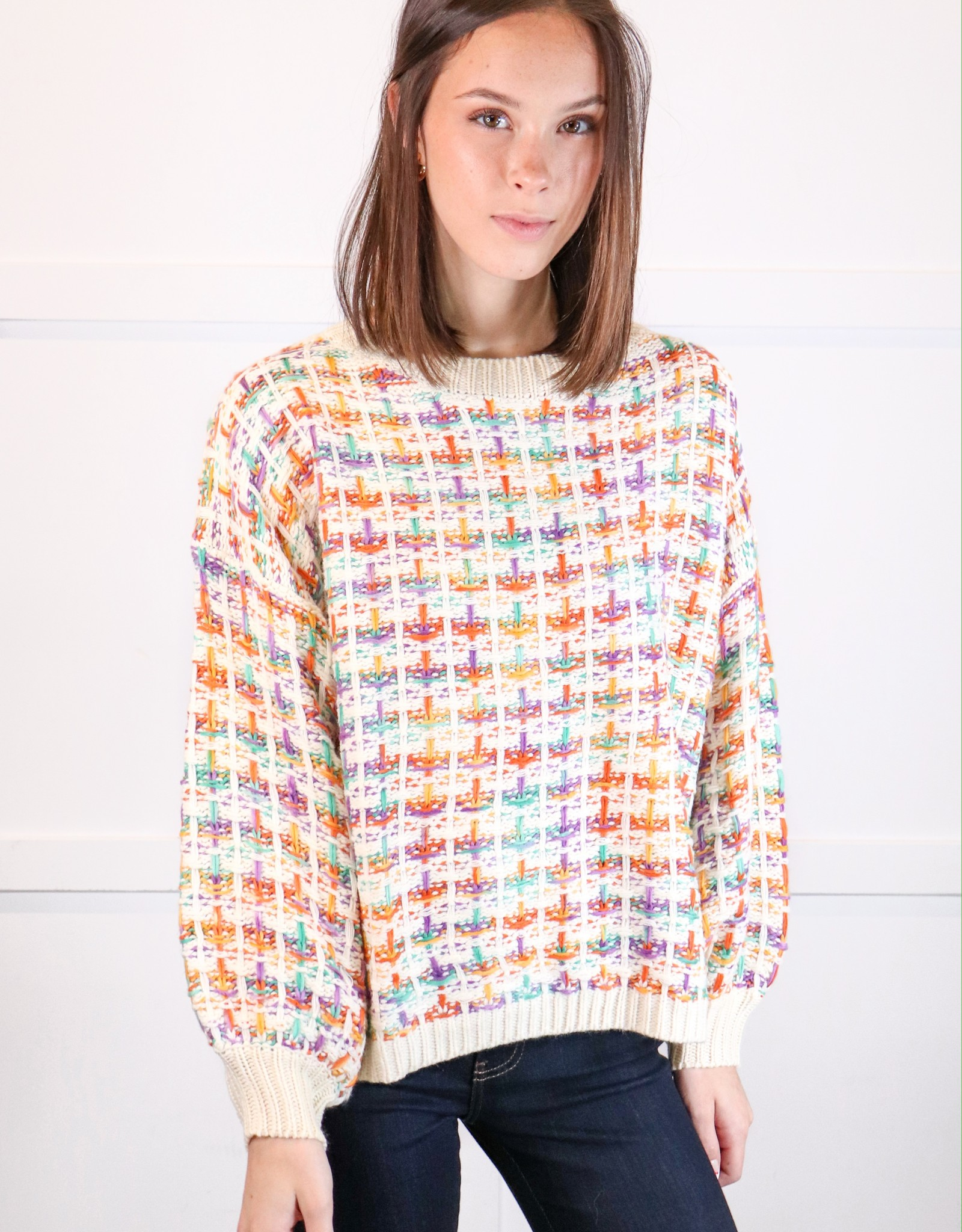 HUSH Boucle pullover sweater