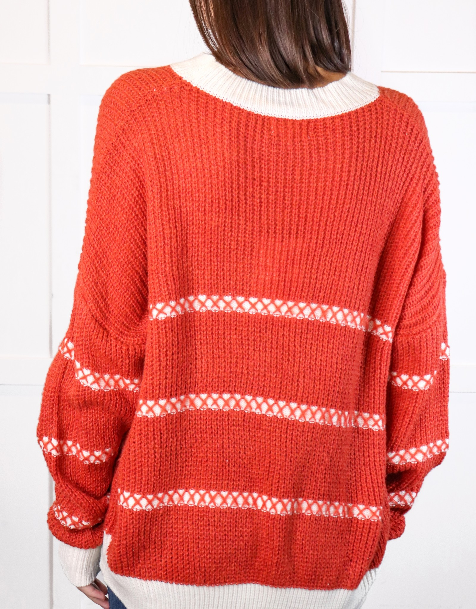 HUSH Thread detail sweater