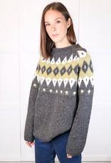 HUSH Block intarsia pullover