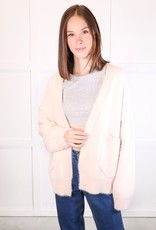 HUSH Basic mohair sweater cardigan