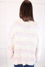 HUSH Rainbow colour sweater