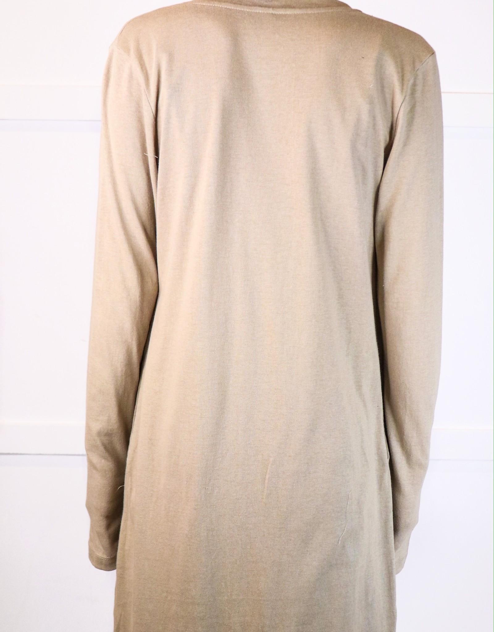 HUSH Long sleeved button down cardigan