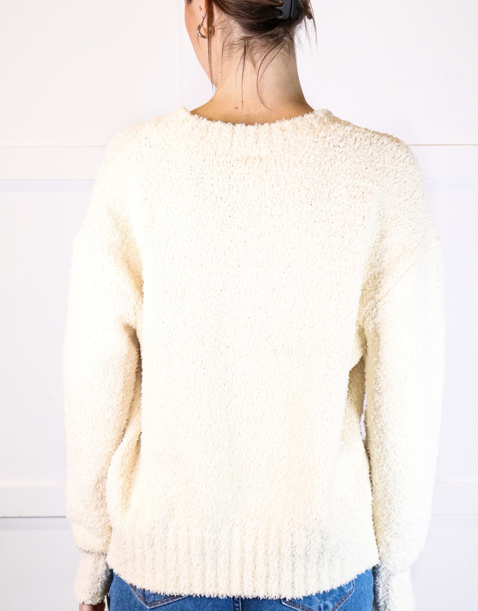 HUSH Soft mock neck l/s sweater