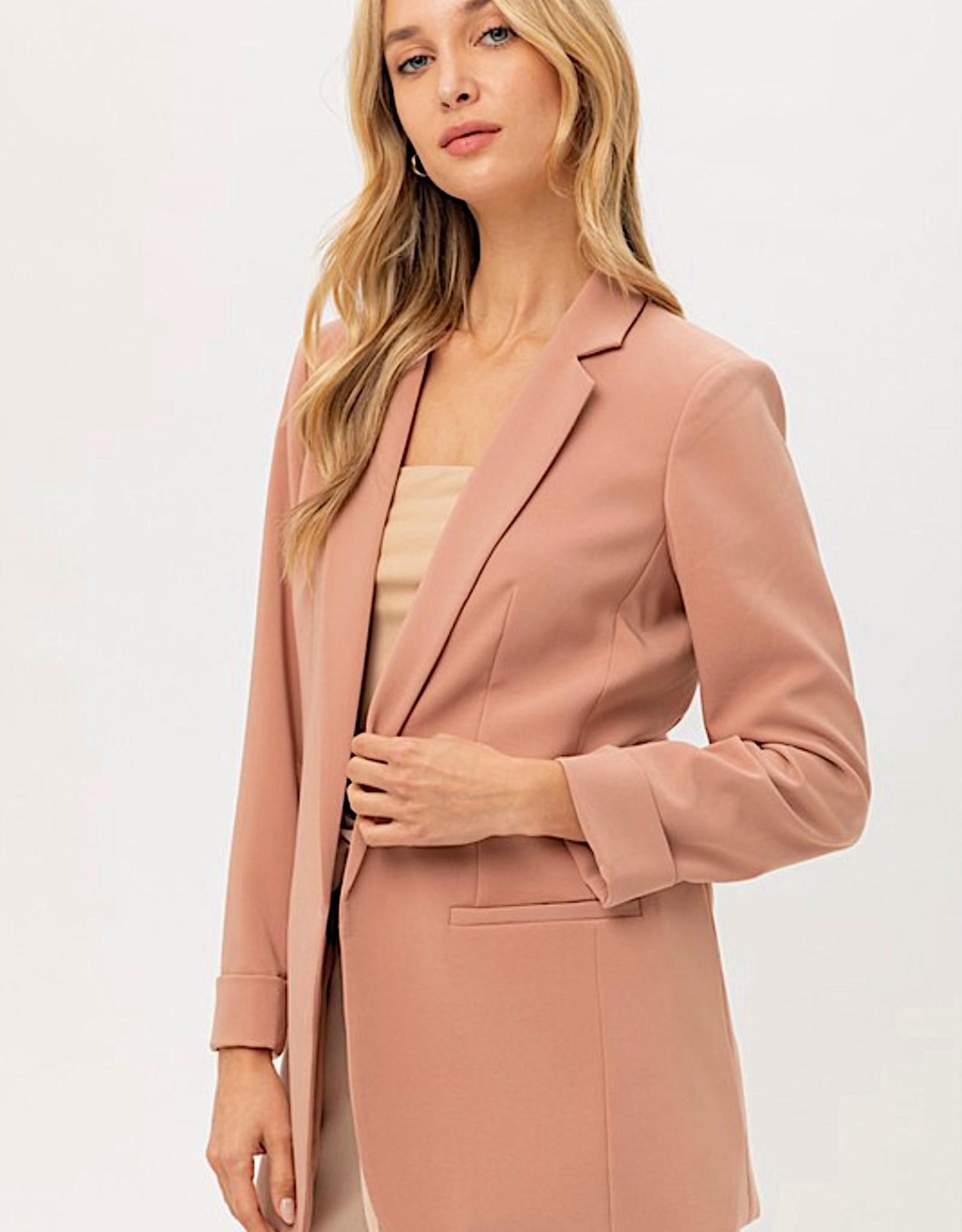 HUSH Veritgo solid blazer