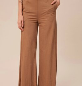HUSH High waist soft touch trousers