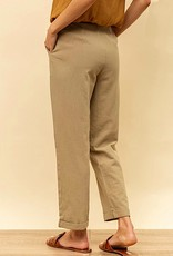 HUSH Button front loose fit trousers