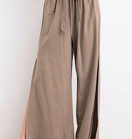 HUSH Saidy side split pants
