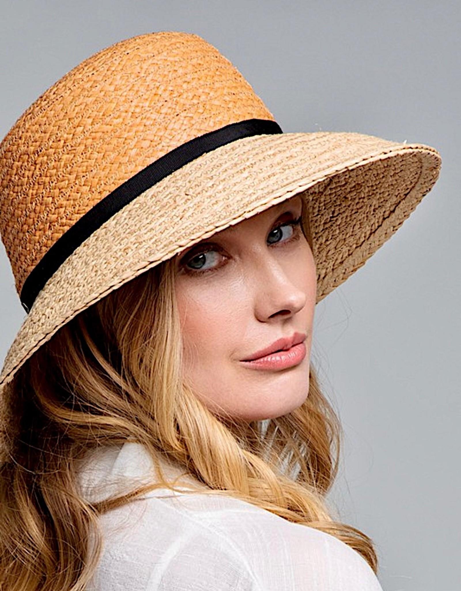 HUSH Premium quality colour black sun hat