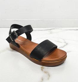 HUSH Mini platform basic sandal