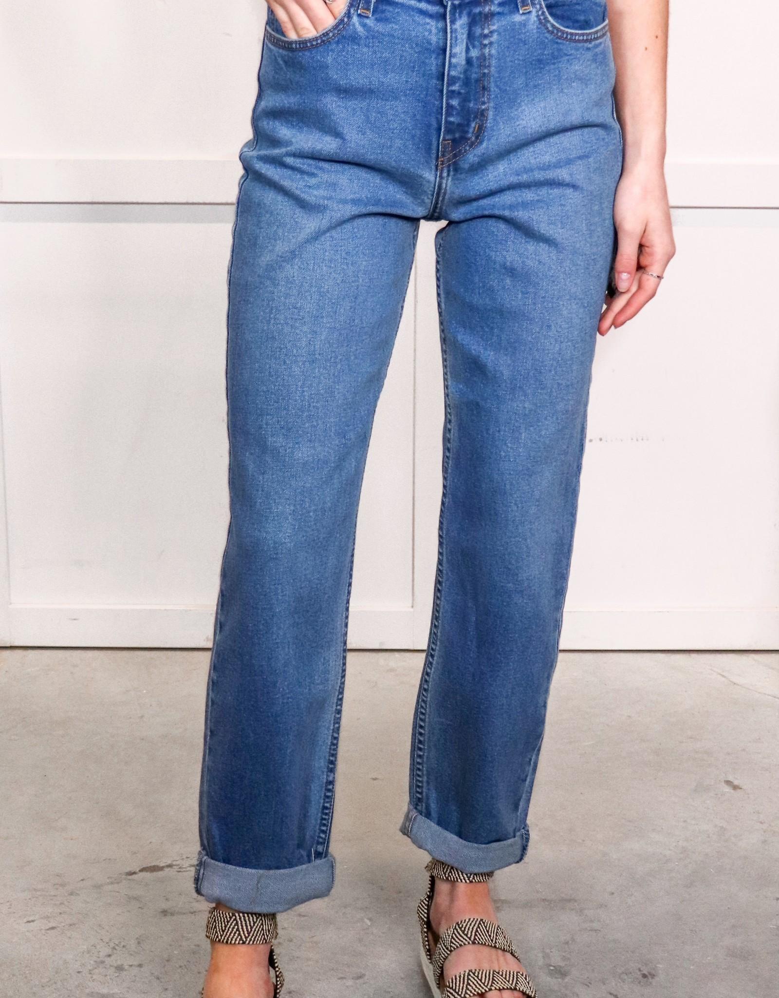 HUSH High rise mom jeans