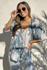 HUSH Flowy light weight boho blouse