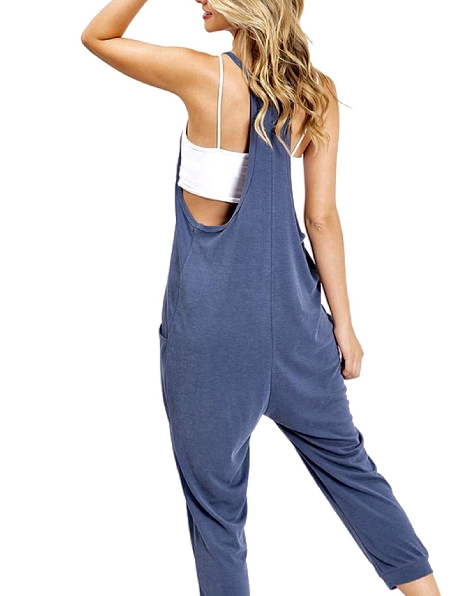HUSH Soft & comfy cropped length jumpsuit