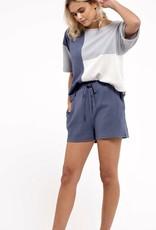 HUSH Drawstring waistband lounge shorts