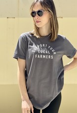 HUSH Support your local farmers tee