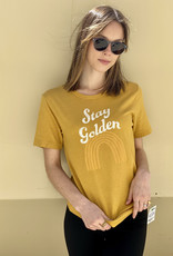 HUSH Stay golden graphic tee