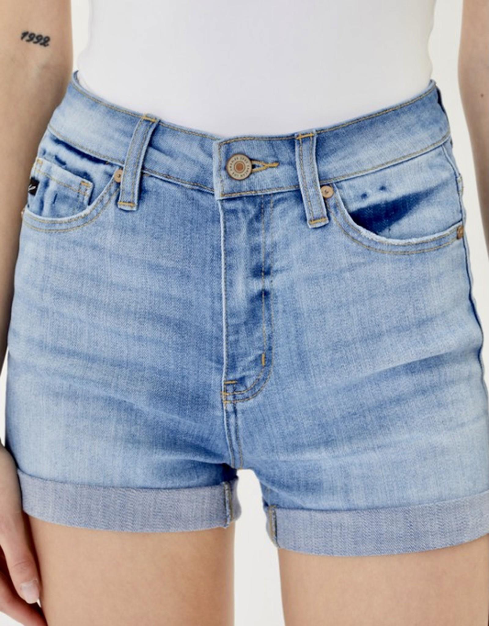 """HUSH High rise denim shorts 10.5"""" inseam"""