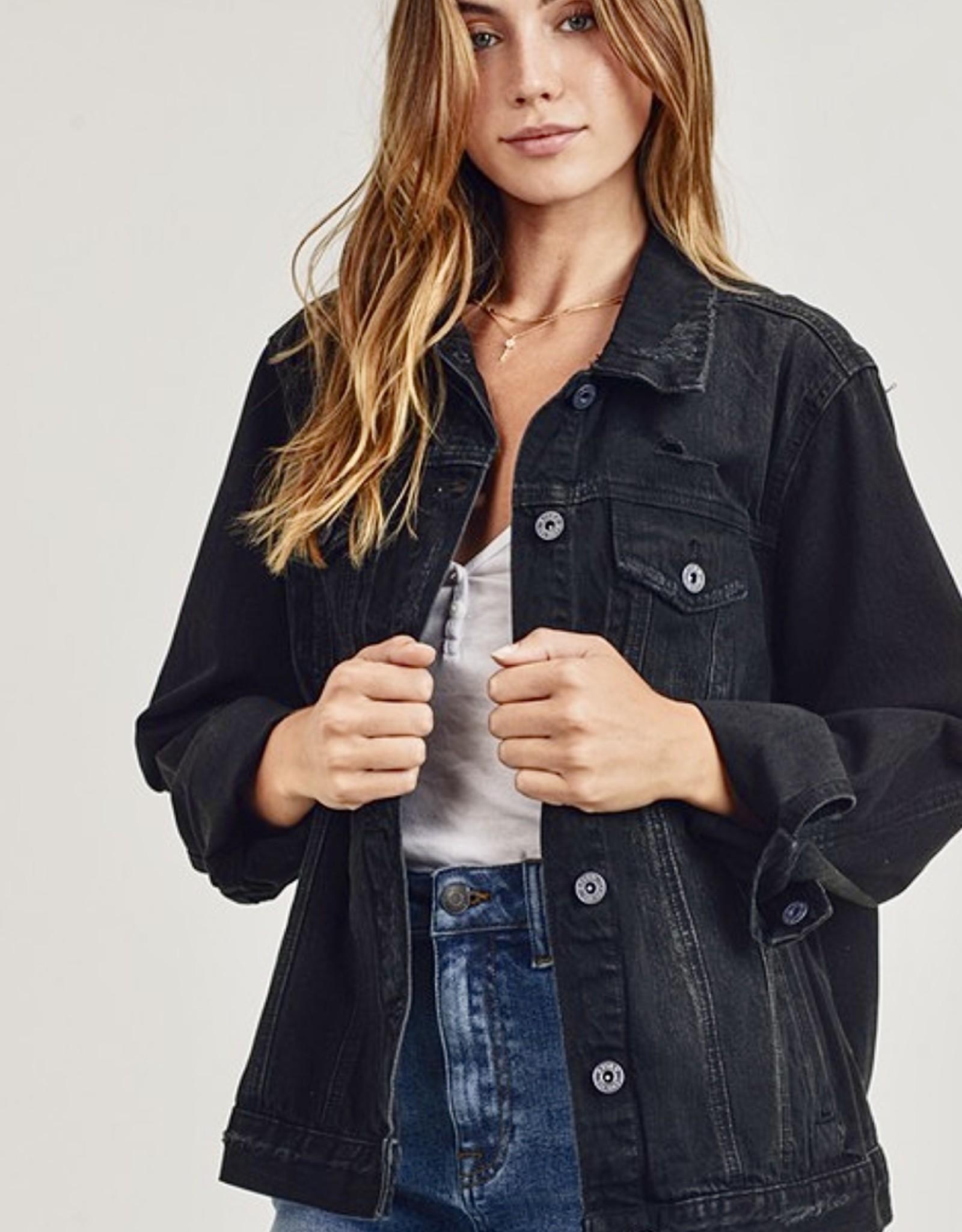 HUSH Classic vinatge style denim jacket