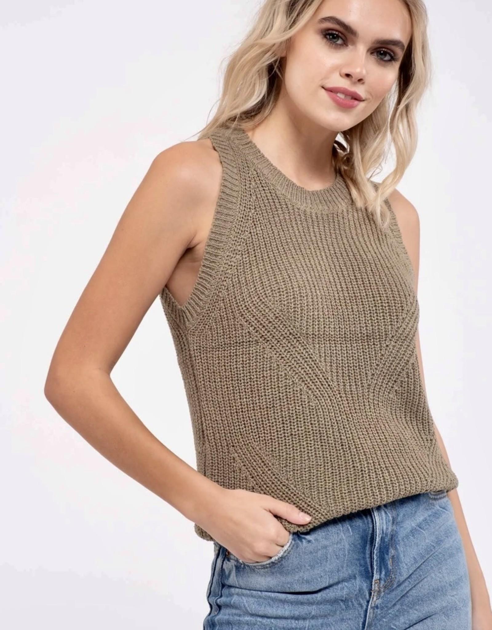 HUSH EVA knit tank
