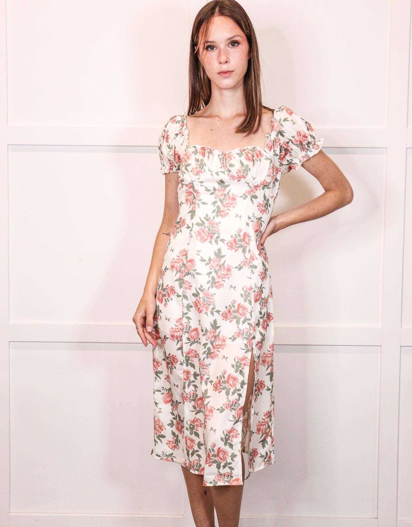 HUSH GEORGIA midi dress