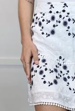 HUSH BLAKE mini skirt