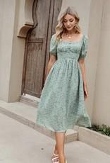 HUSH GRACELYNN midi dress