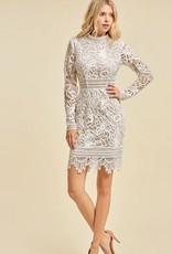 HUSH HEAVEN lace dress