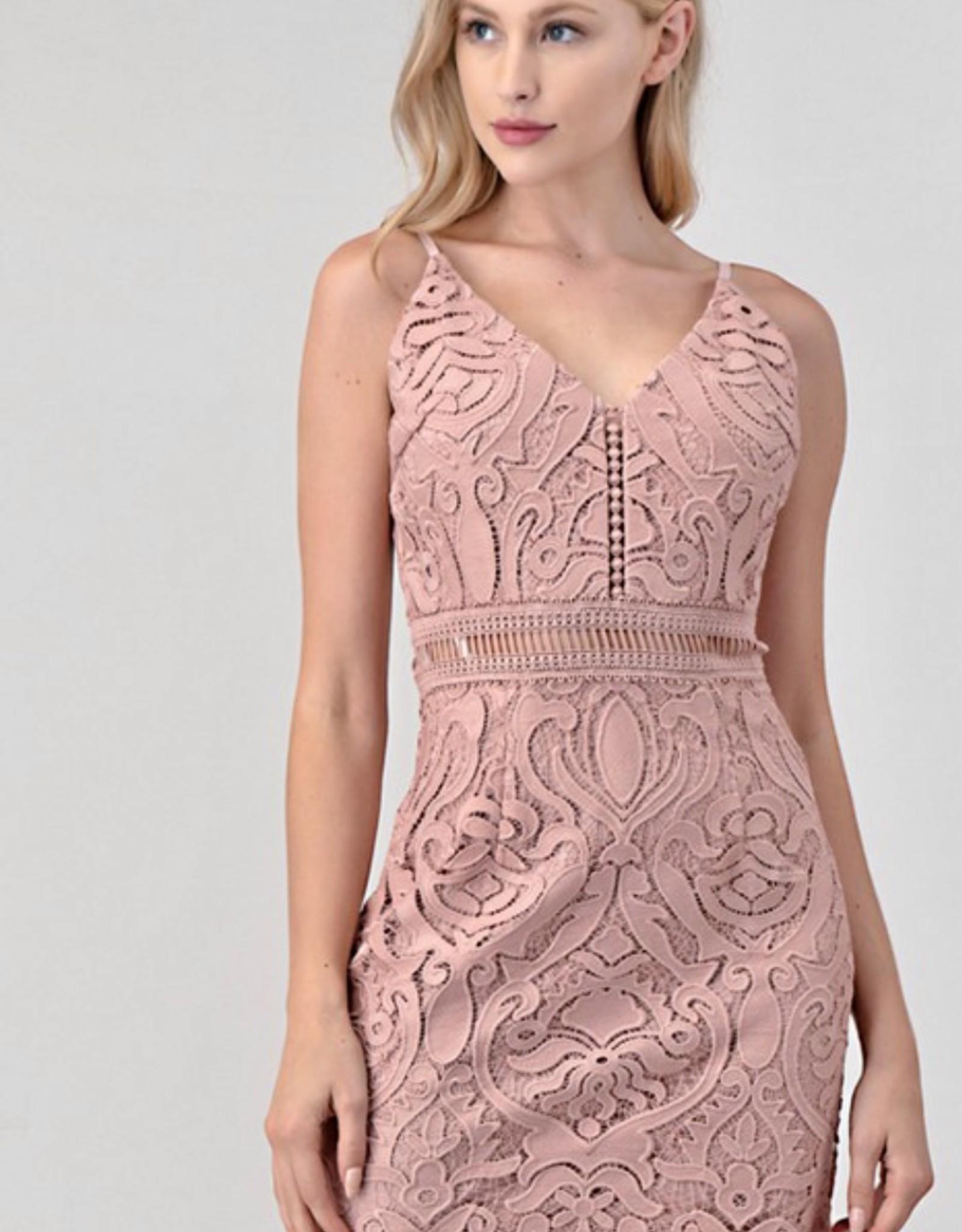 HUSH HARLEY lace dress