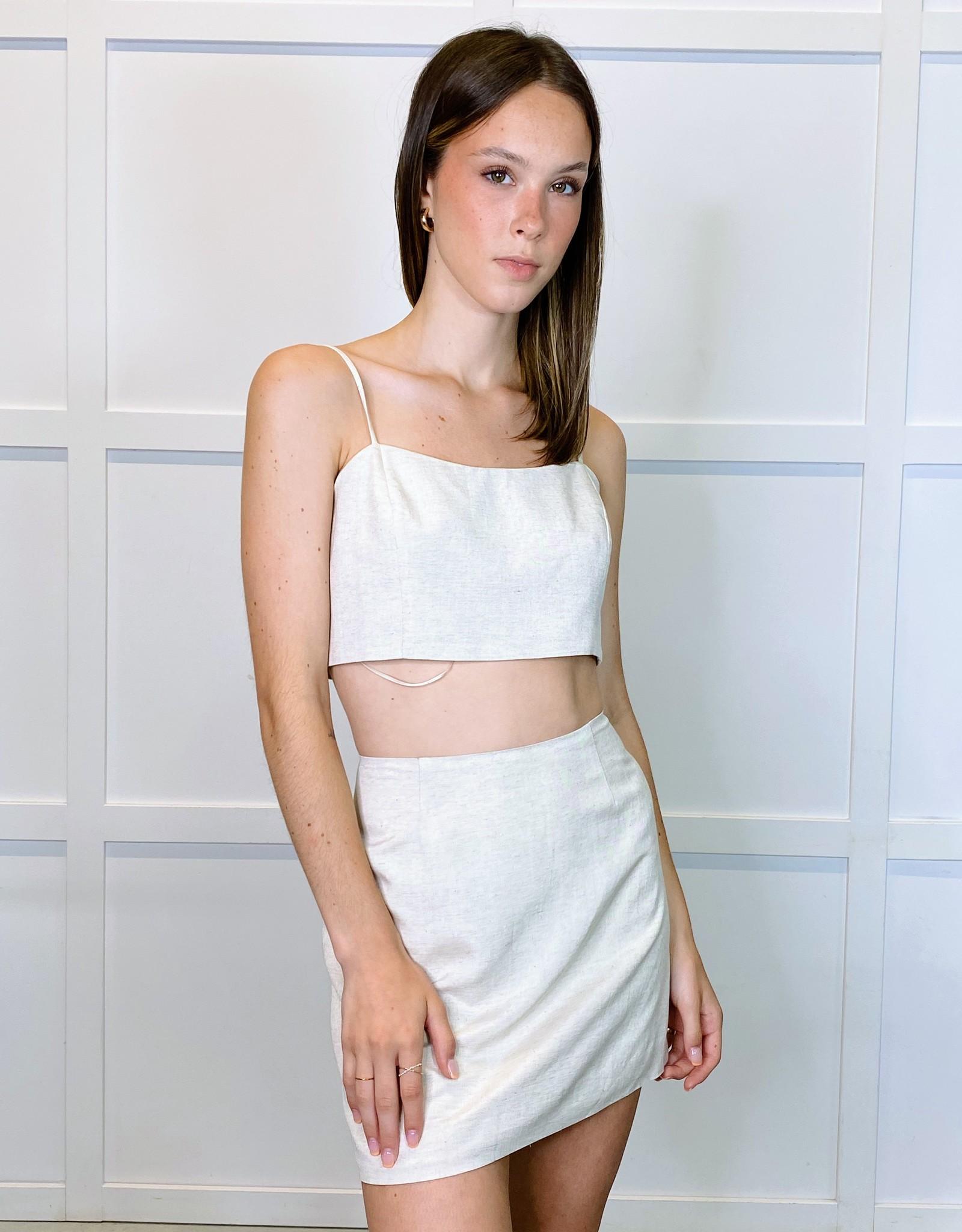 HUSH ISADORA mini skirt