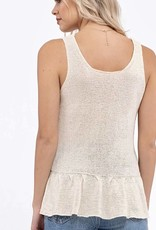 HUSH LEENA knit tank