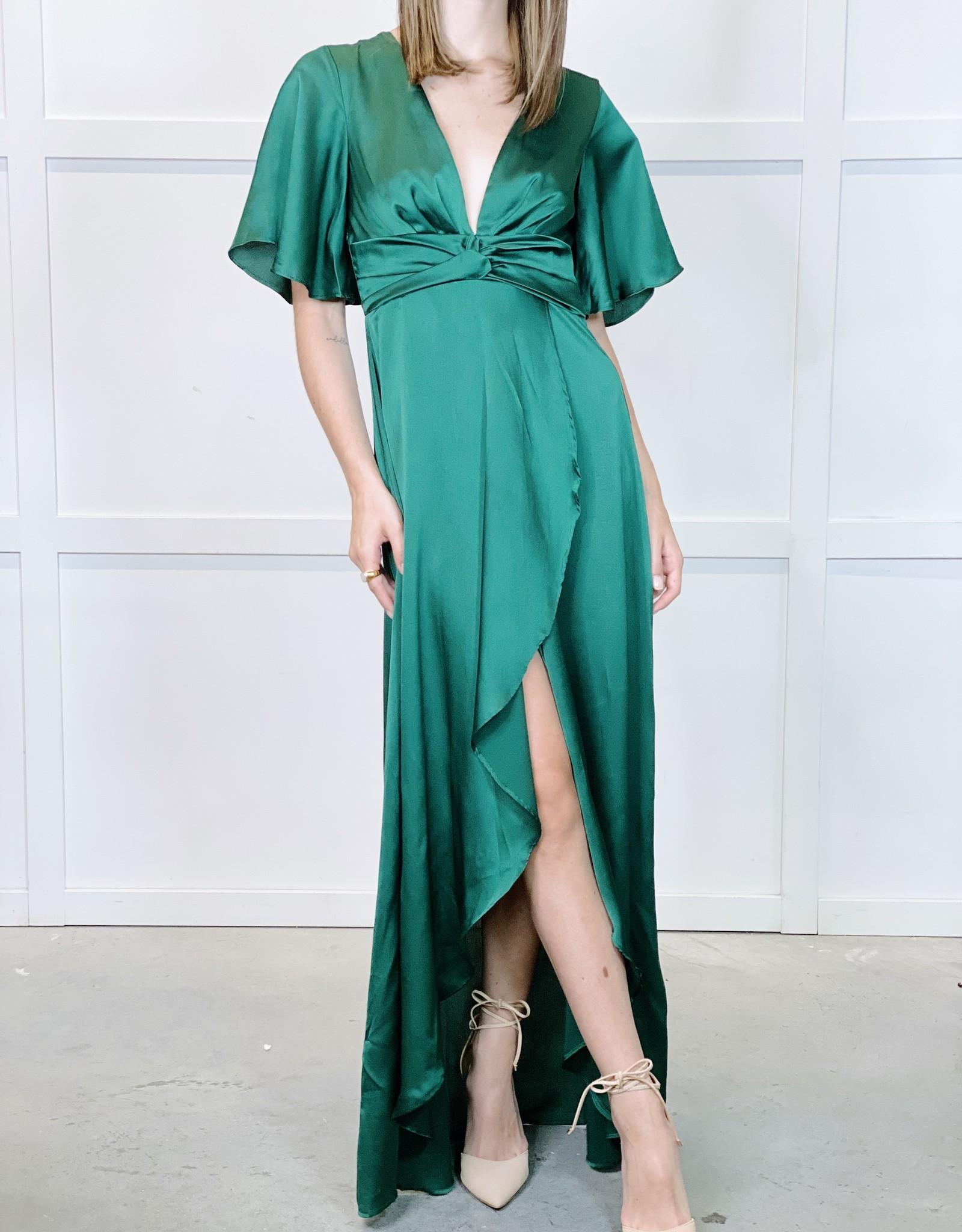 HUSH MELODY hi low dress